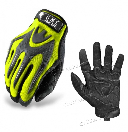 HIGH IMPACT MECHANICS WORK GLOVES